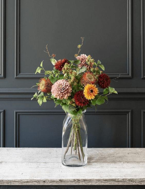 Cách cắm hoa mang màu sắc đồng quê gần gũi với thiên nhiên 1