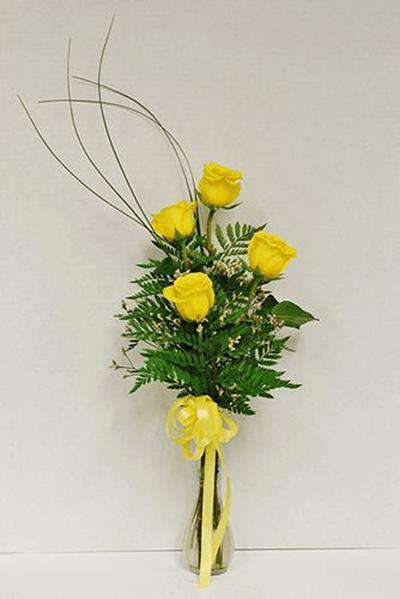 Cách cắm hoa hồng kết hợp lá dương xỉ đẹp hút hồn 10