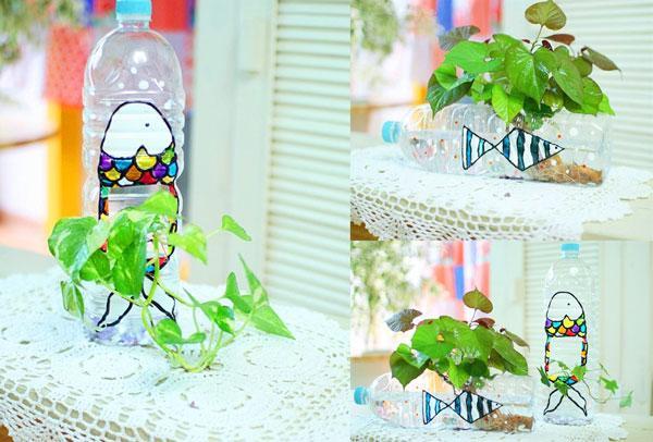 Hướng dẫn cách tự làm chậu hoa để trồng cây cảnh, hoa cảnh 4