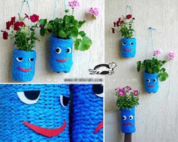 Hướng dẫn cách tự làm chậu hoa để trồng cây cảnh, hoa cảnh 2