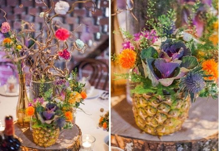 Gợi ý những ý tưởng độc lạ để trang trí hoa tiệc cưới vào mùa thu 16