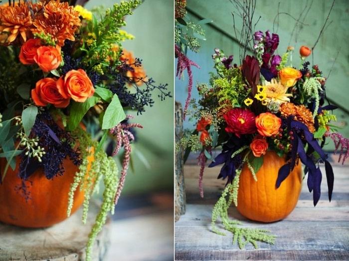 Gợi ý những ý tưởng độc lạ để trang trí hoa tiệc cưới vào mùa thu 17