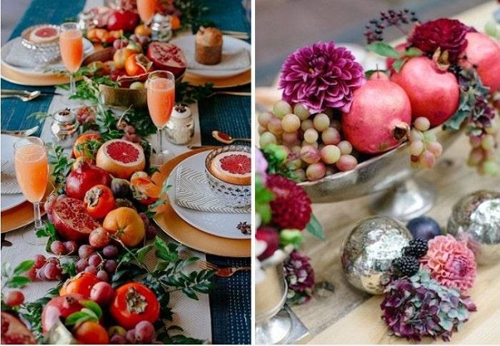 Gợi ý những ý tưởng độc lạ để trang trí hoa tiệc cưới vào mùa thu 18