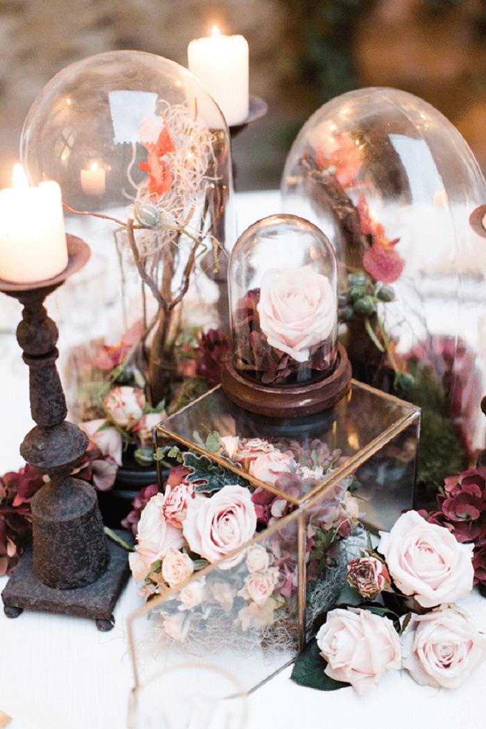 Gợi ý những ý tưởng độc lạ để trang trí hoa tiệc cưới vào mùa thu 22