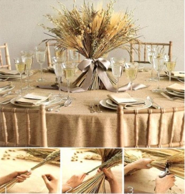Gợi ý những ý tưởng độc lạ để trang trí hoa tiệc cưới vào mùa thu 2