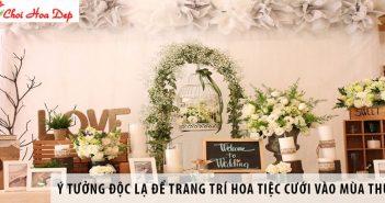 Gợi ý những ý tưởng độc lạ để trang trí hoa tiệc cưới vào mùa thu 1