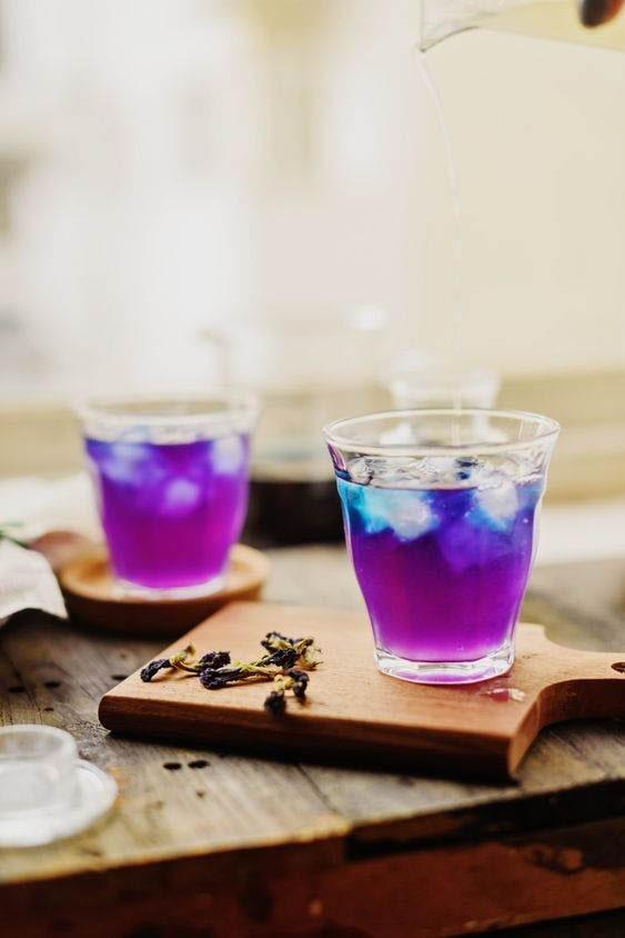 Hoa đậu biếc - sắc xanh tím ngọt ngào xiêu lòng người