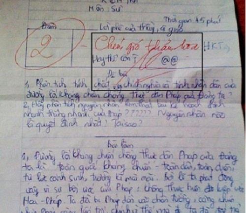 Lỗi diễn đạt lan man khiến học sinh mất điểm