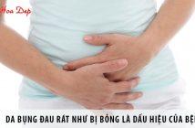 Da bụng đau rát như bị bỏng là dấu hiệu của bệnh nào?