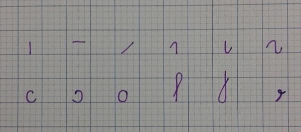 Nên bắt đầu dạy bé những nét cơ bản rồi mới luyện các chữ