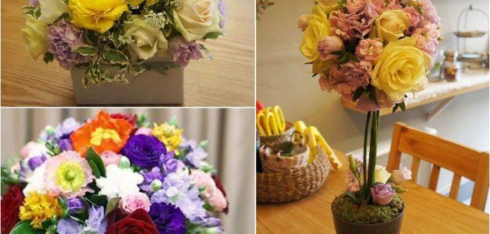 3 cách cắm hoa hồng 20/11 để bàn đẹp, dễ làm