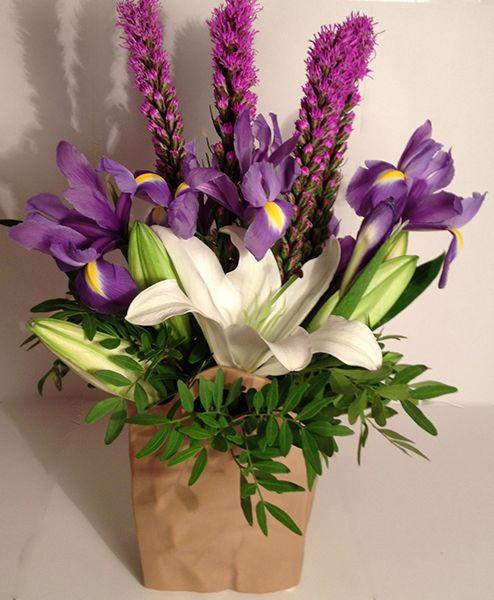 Lẵng hoa ly đặc biệt cho ngày 20/11