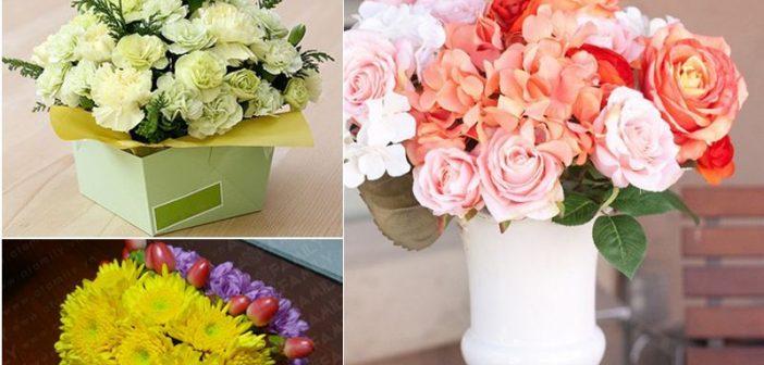 3 cách cắm hoa ngày 8/3 đẹp, dễ thương để trang trí không gian