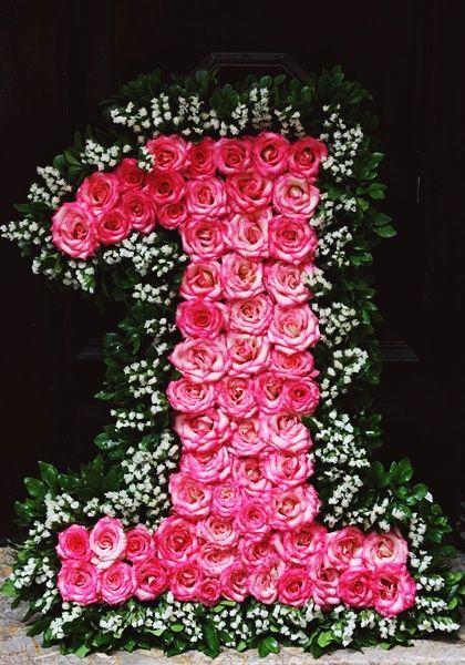 Lẵng hoa hình số ý nghĩa cho ngày 8-3