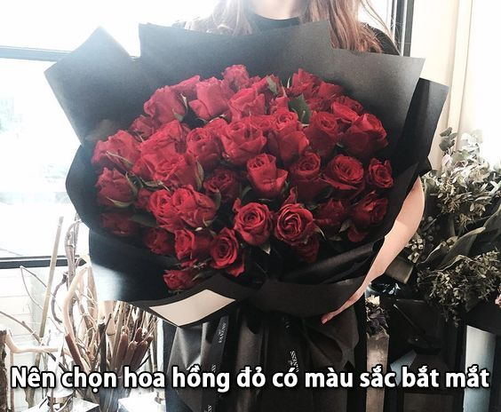 Cách chọn hoa hồng khéo léo là theo sở thích riêng