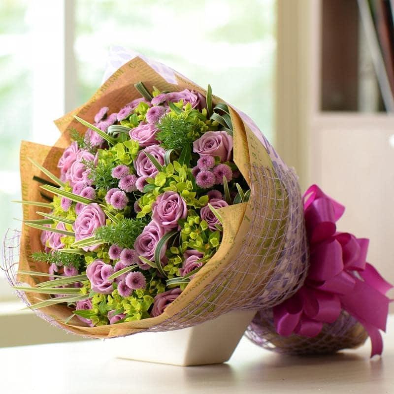 Tùy theo từng mục đích tặng hoa sẽ có những cách gói hoa khác nhau