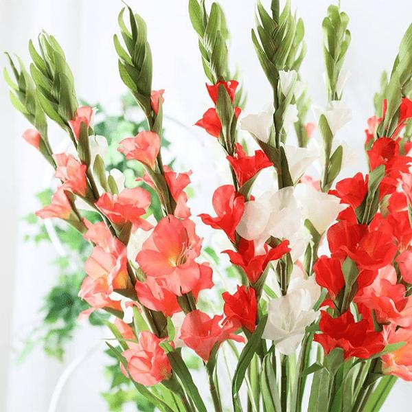 Hoa lay ơn cúng Thần Tài Ông Địa