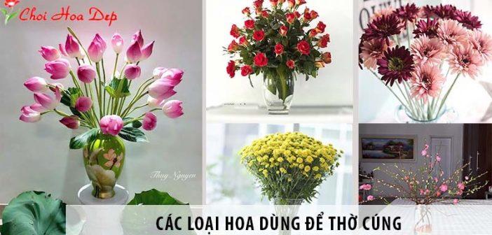 5 loại hoa dùng để cúng gia tiên thường được đặt trên bàn thờ