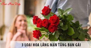 Tặng hoa cho bạn gái nên tặng hoa gì lãng mạn nhất?
