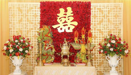 Chữ Hỷ thường được đặt trên bàn thờ vào ngày cưới