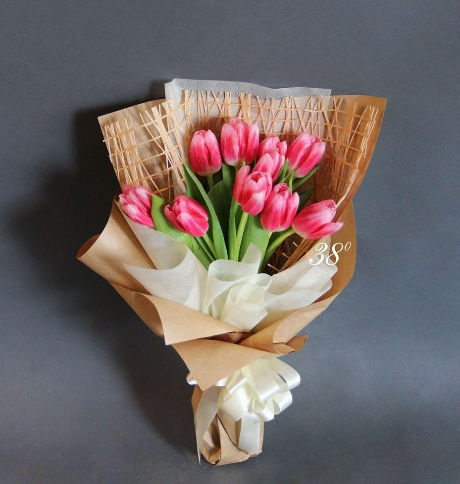 Hoa tulip tặng valentine