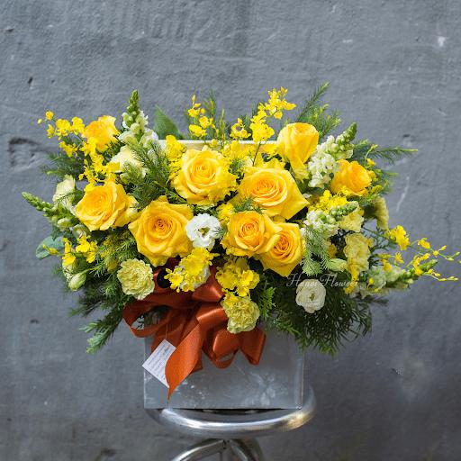 Hoa hồng vàng tượng trưng cho sự vui tươi, may mắn