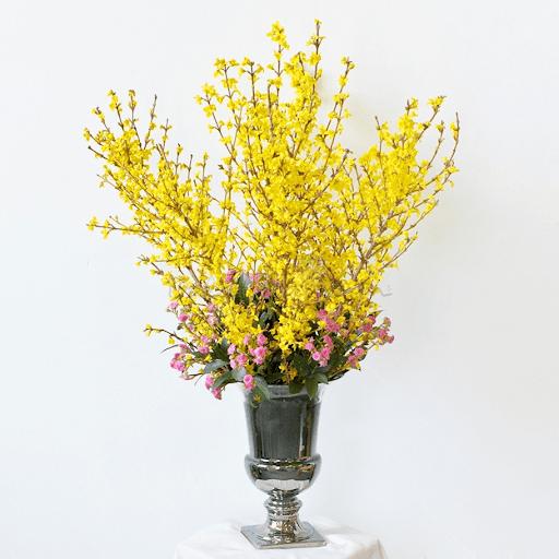 Hoa đào hay hoa mai tượng trưng cho sự sống mạnh mẽ