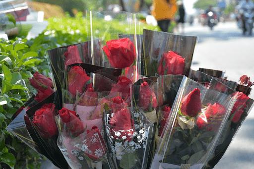 Những bông hồng đơn vừa đơn giản mà lại tràn đầy yêu thương