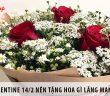 Valentine 14/2 nên tặng hoa gì lãng mạn và ý nghĩa nhất?