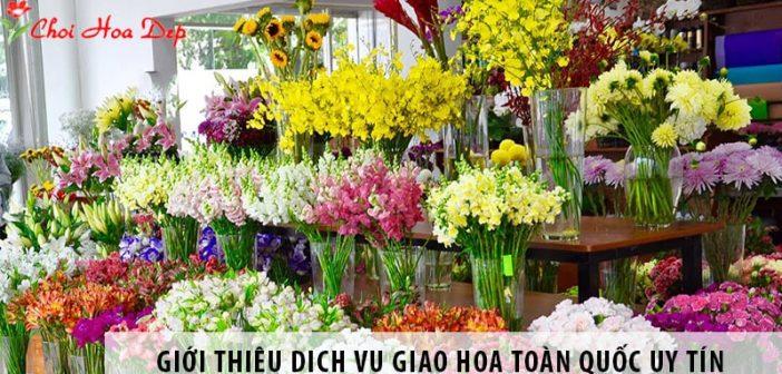 Giới thiệu dịch vụ giao hoa toàn quốc uy tín