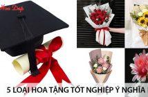 5 loại hoa tặng tốt nghiệp ý nghĩa nhất 1