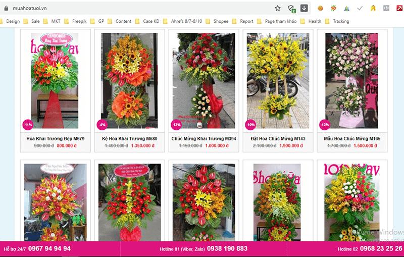 muahoatuoi.vn cung cấp các loại hoa mừng khai truong đẹp và ý nghĩa