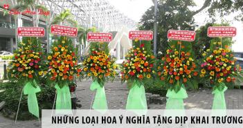 Những loại hoa ý nghĩa nên tặng dịp khai trương