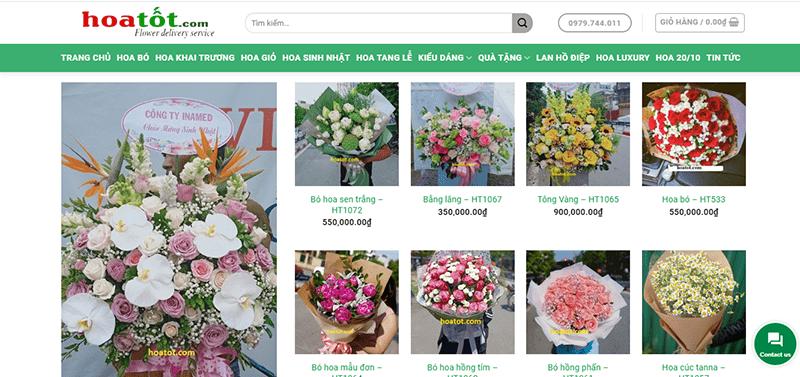 Shop hoa tươi hoatot.com